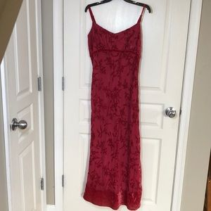 🔥FINAL PRICE RED GOWN DRESS MODA SPIEGEL
